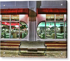 Acrylic Print featuring the photograph Star Diner by Ryan Shapiro