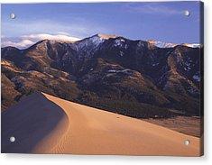 Star Dune Acrylic Print by Eric Foltz