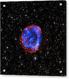 Star Explosion In The Large Magellanic Cloud Acrylic Print