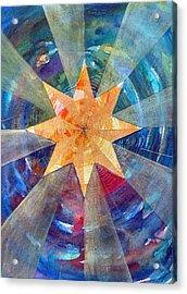 Star Mandala 1  Acrylic Print