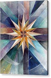Star Mandala 2  Acrylic Print