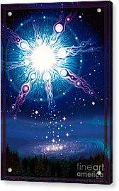 Star Matrix Acrylic Print
