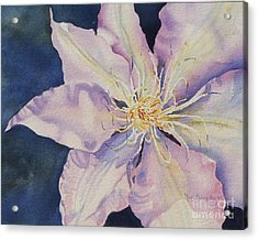 Acrylic Print featuring the painting Star Shine by Mary Haley-Rocks