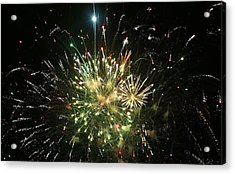 Star Spangling Fireworks Acrylic Print