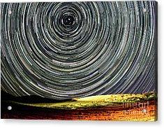 Star Trail Acrylic Print