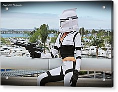Star Wars By Knight 2000 Photography - Clone Wars Acrylic Print