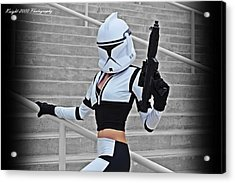 Star Wars By Knight 2000 Photography - Hello Guns Acrylic Print