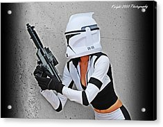 Star Wars By Knight 2000 Photography - Waiting Acrylic Print