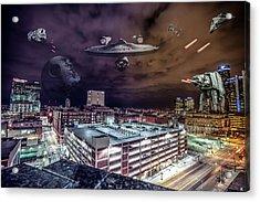 Acrylic Print featuring the photograph Star Wars Detroit by Nicholas Grunas