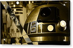 Star Wars R2d2 Collection Acrylic Print by Marvin Blaine