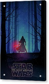 Star Wars - The Force Awakens Acrylic Print