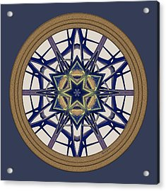 Star Window I Acrylic Print