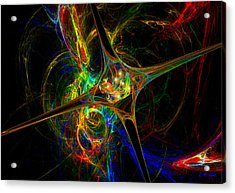 Star Womb Acrylic Print by Michael Durst