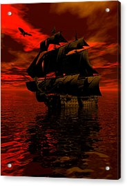 Starboard Tack Acrylic Print