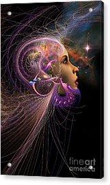 Starborn Acrylic Print by John Edwards