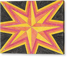Starburst 2 Acrylic Print by Eric Forster