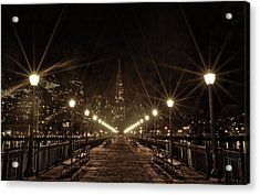 Starburst Lights Acrylic Print
