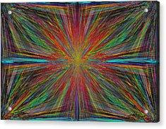 Starburst Acrylic Print by Tim Allen