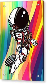 Stardust 2 Acrylic Print by Nicole Wilson