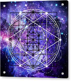 Acrylic Print featuring the digital art Stardust by Bee-Bee Deigner