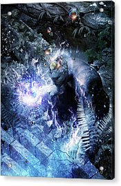 Stardust Acrylic Print by Cameron Gray