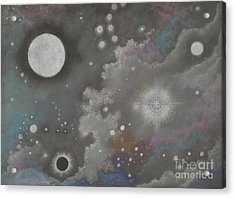 Stardust Acrylic Print by Janet Hinshaw