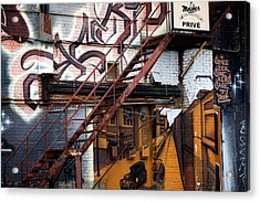 Stare Stair Acrylic Print