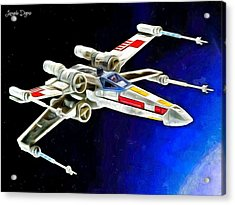 Starfighter X-wings - Da Acrylic Print