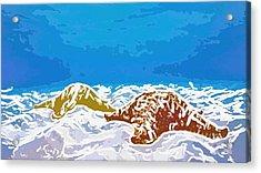 Starfish 1 Acrylic Print by Lanjee Chee