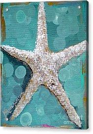 Starfish Goldie Acrylic Print