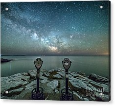 Stargazers Acrylic Print by Benjamin Williamson