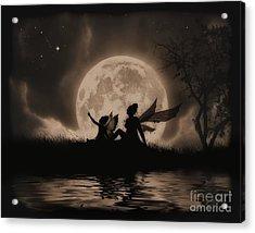 Stargazing Acrylic Print by Julie Fain