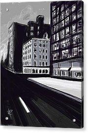Stark City Acrylic Print