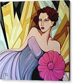 Starlet 1935 Acrylic Print by Tara Hutton