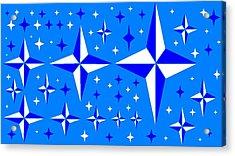 Starlight 9 Acrylic Print by Linda Velasquez