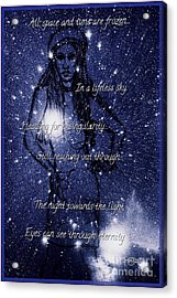 Starlight In Space And Time 5 Acrylic Print