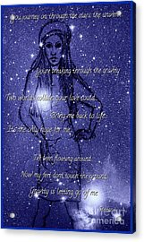Starlight Of Space And Time 3 Acrylic Print