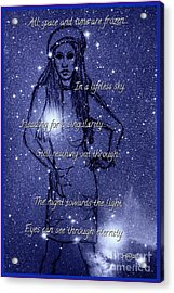 Starlight Of Space And Time 4 Acrylic Print