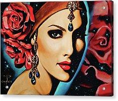 Starlight Rose Acrylic Print