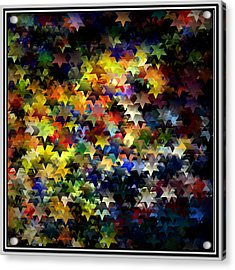 Starlight Acrylic Print by Susan  Epps Oliver