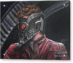 Starlord Acrylic Print by Tom Carlton