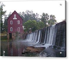 Starrs Mill Ga Acrylic Print by Jake Hartz