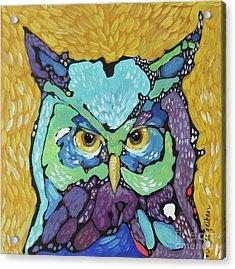 Starry Eyed Acrylic Print