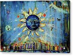 Starry Night 2017 Acrylic Print