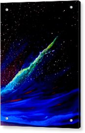 Starry Night Acrylic Print by Scott Wilmot