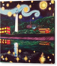Starry Night With Little Joe Acrylic Print