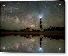 Starry Reflections Acrylic Print