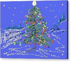 Starry, Starry Night Acrylic Print by Carol Berning