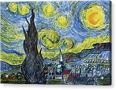 Starry, Starry Night Acrylic Print