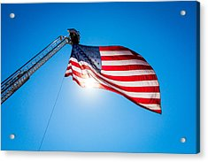 Stars And Stripes Forever Acrylic Print